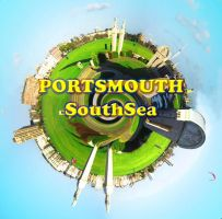 Portsmouth Southsea planet by Abylone