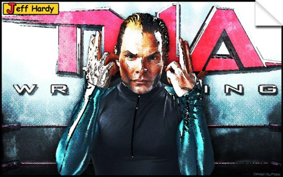 Jeff Hardy comic book style by Photopops