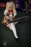 Maid Zombie Slayer by GagaAlienQueen