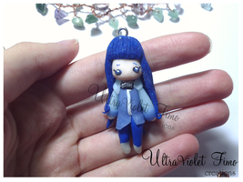 Polymer Clay -Hinata by UltraVioletCreations