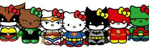JLA Kitty League Animated by Mutant-Cactus