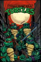 TMNT 2010 Colored by K-fry-express