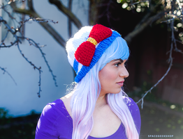 Sailor Moon Knitted Beanie by tiny-moon