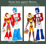 Before and After Meme - HRxOP by PurrV