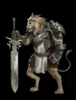 Lion Knight by Jaasif