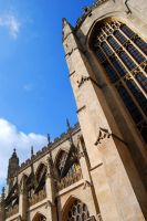 Bath Abbey by KimberlyRAWR
