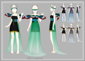 Dress design by Vala-Creations