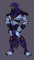 Skeletor - Recolor by thejason10