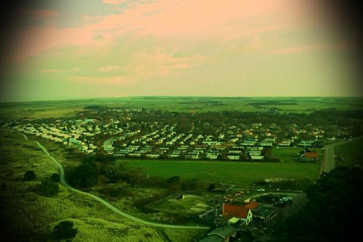 Hollum From Above by Stockbroker