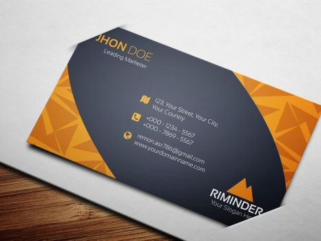 Creative Business Card by remon92
