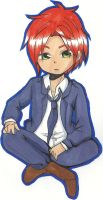 APH  Chibi Scotland by TurquoiseDreamer2