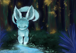 Speedpaint- Forest by Beautycrane11