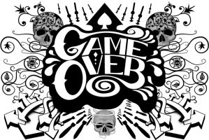 Print: Game Over by GAME-OVER-CUSTOM