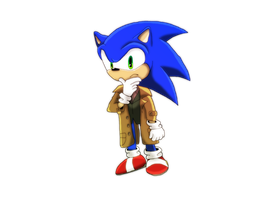 That hedgehog's a real ''Looker'' by SuperSonicFireDragon