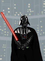 Star Wars - Darth Vader by Juggernaut-Art