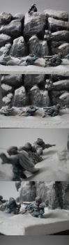 Imperial guards in snowstorm by osiskars