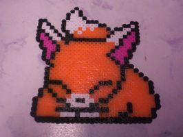 Fox Perler Bead! by kidate15