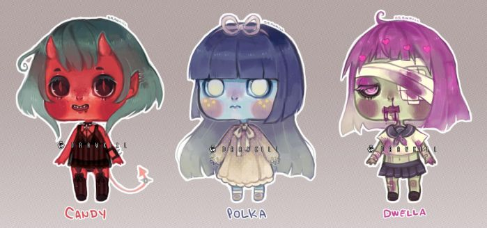 [CLOSED] Monster Girl Adopts by DrawKill