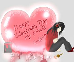 Happy Valentine's Day!!! by geralpiscis