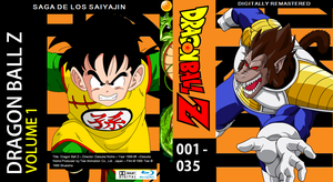 Dragon Ball Z Blu-ray cover Volume 1 by PhysicsAndMore