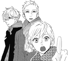 Transparent Mamura Family by Background-chan