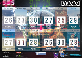 Calendarium Special Mix Show 2014 by Wolinpiotr