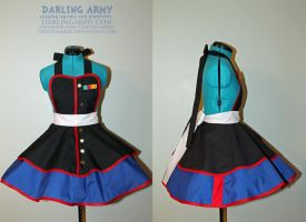 Marine Corps -USMC- Cospay Apron Pinafore by DarlingArmy