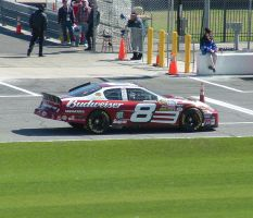 Dale Earnhardt Jr's Car by Dracoart-Stock