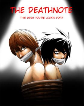 theDeathNote ID contest entry by Go-Devil-Dante