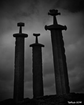 Mounted Swords by TebPixels