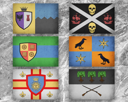 Some Flags by Some1Silly