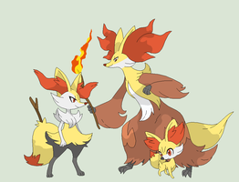 Pokemon Base 98~Fennekin Evolution~ by Xbox-DS-Gameboy