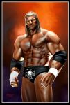 King of king (Triple H) by Anubiscomics