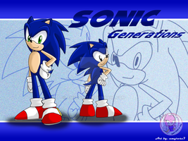SONIC Generations :WALL: by amyrose7