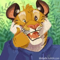 tiger icon for omfgitsmiller by kiki-doodle