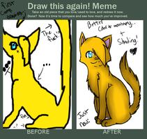 Improvement Meme by Spottedfire-Meow