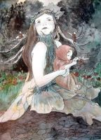 Titania and the Changeling by Reowyn