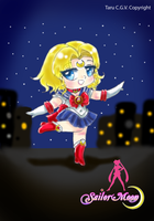 Sailor Moon Chibi: Friendship by Taru-Blue-Angrybird
