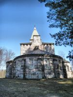 Stone church by Misstock