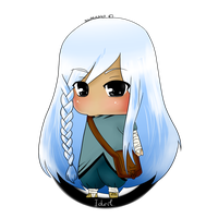 Idril chibi full view by SwanCake