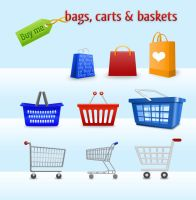 Carts Bags and Baskets by NewJayne