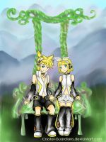 Rin And Len Gemini by Crystal-Guardians