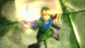Link's discovery pose by isaac77598