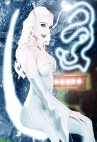 Legion of Super-Heroes: The White Witch by DaswookofHeromorph