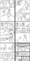 Round 1, Senshi Alpha and Beta pages 11-20 by Littlenene