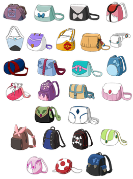 Pokebags 3 by Hapuriainen