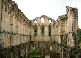 Rievaulx Abbey 29 - Stock by GothicBohemianStock