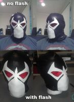 Bane Knightfall Mask WIP 3 by ajb3art