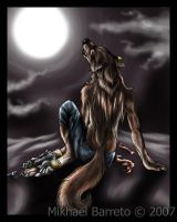 Night Wolfess by deadhowl