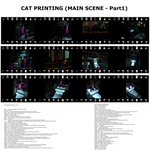 Cat printing(main scene -part1) - ROLE PLAY STORY by db777